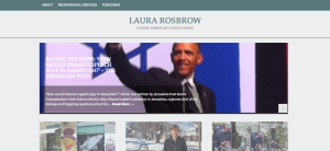 Laura Rosbrow's front page