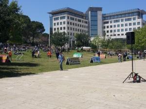 Photo of Technion courtyard