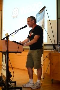 Photo of Uri Levine, co-founder of Waze; Courtesy of Sithzu Photographers